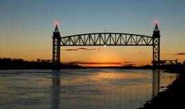 Ponte ferroviario in Cape Cod Immagine Stock Libera da Diritti