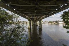 Ponte ferroviario di Kew fotografia stock libera da diritti
