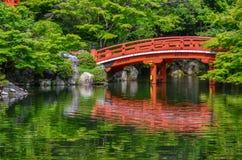 Ponte giapponese Fotografia Stock