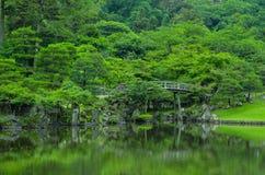 Ponte giapponese Fotografie Stock
