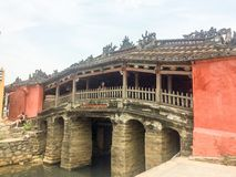 Ponte giapponese Hoi An immagine stock