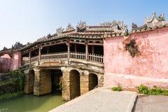 Ponte giapponese in Hoi An, Vietnam immagini stock libere da diritti