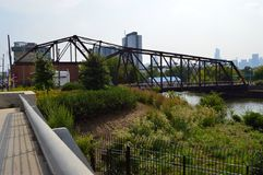 Ponte girevole Fotografia Stock Libera da Diritti