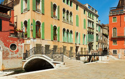 Ponte Giustinian Royalty Free Stock Photo