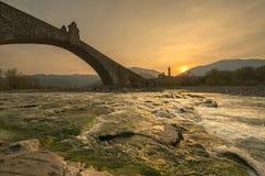 Ponte Gobbo Arkivbild