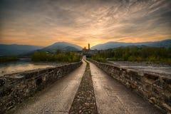 Ponte Gobbo Royaltyfri Bild