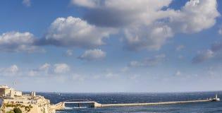 Ponte grande do porto Fotografia de Stock