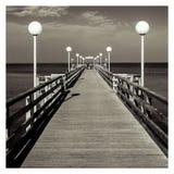 Ponte Heiligendamm del mare fotografie stock