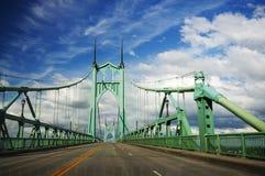 Ponte histórica bonita do St. johns imagem de stock