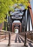 Ponte histórica do trem do cavalete Fotos de Stock Royalty Free