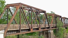 Ponte histórica do trem do cavalete Imagens de Stock