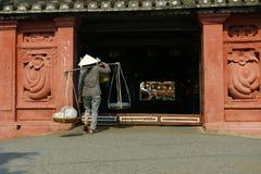 Ponte in Hoi An Vietnam immagine stock libera da diritti