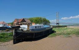 Ponte Humber, Barton Upon Humber Il Regno Unito immagini stock libere da diritti
