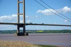 Ponte Humber, Barton Upon Humber Il Regno Unito immagine stock libera da diritti