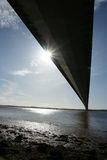 Ponte Humber, Kingston sopra il guscio immagini stock libere da diritti