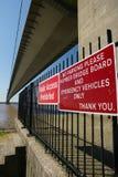 Ponte Humber, Kingston sopra il guscio fotografie stock libere da diritti