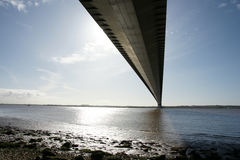 Ponte Humber, Kingston sopra il guscio fotografia stock