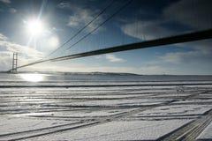 Ponte Humber, Kingston sopra il guscio fotografie stock