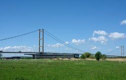 Ponte Humber, riserva naturale del bordo dell'acqua, Barton Upon Humber Il Regno Unito immagini stock libere da diritti