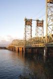 Ponte I5 sopra il fiume Columbia Immagine Stock Libera da Diritti