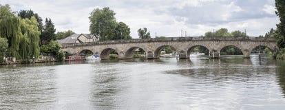 Ponte Inghilterra della strada di imene Immagini Stock