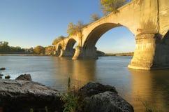 Ponte Interurban fotografia de stock royalty free