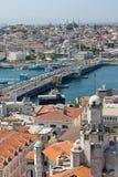 Ponte Istambul de Galata Imagem de Stock Royalty Free
