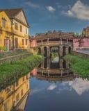 Ponte japonesa antiga em Hoi An Vietnam Fotografia de Stock Royalty Free