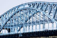 Ponte John Ross de Market Street em Chattanooga, Tennessee foto de stock