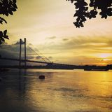 Ponte Kolkata Foto de Stock