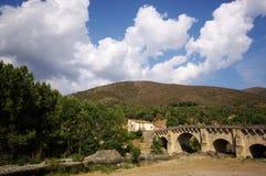 Ponte leccia bridge Royalty Free Stock Photos
