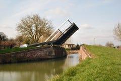 Ponte levadiça Aynho do canal Imagens de Stock