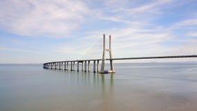 Ponte Lisboa, Portugal - Vasco da Gamma Imagens de Stock