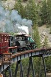 Ponte locomotiva Fotografia de Stock Royalty Free