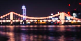 Ponte Londra di Chelsea Immagini Stock