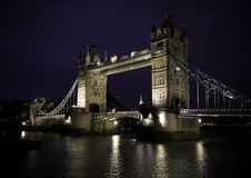 Ponte Londres da torre Foto de Stock Royalty Free