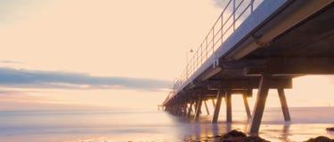 Ponte longa Imagem de Stock
