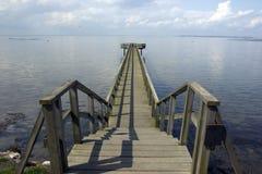 Ponte longa Foto de Stock