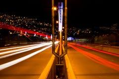 Ponte longa da exposição Imagens de Stock Royalty Free
