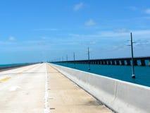 Ponte longa no Oceano Atlântico Fotos de Stock