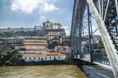 Ponte Luis I, Oporto Fotografie Stock