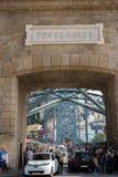 Ponte Luiz I stock photo