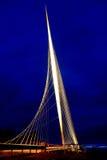 Ponte luminoso Fotografie Stock