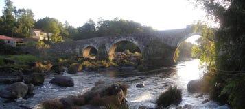 Ponte Maceira, Negreira, Hiszpania fotografia royalty free