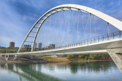 Ponte majestosa de Walterdale fotografia de stock