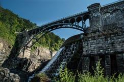 Ponte maledetto del Croton Fotografie Stock