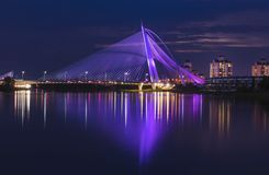 Ponte Malesia di Putrajaya Fotografia Stock