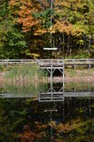 Ponte a Maybury immagine stock