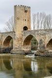 Ponte medieval de Frias em Burgos Foto de Stock Royalty Free
