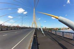 Ponte mega do estilingue, Rama 8 Fotografia de Stock